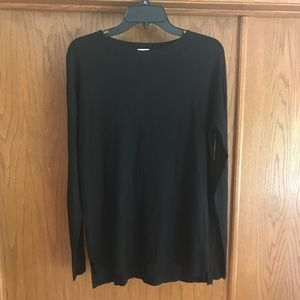 Super soft lightweight black sweater